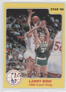 1986 Star Court Kings #4 - Larry Bird