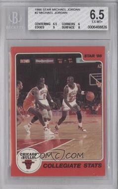 1986 Star Michael Jordan - [Base] #2 - Michael Jordan [BGS6.5]