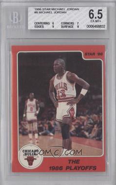 1986 Star Michael Jordan - [Base] #8 - Michael Jordan [BGS6.5]