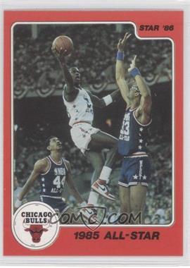 1986 Star Michael Jordan #5 - Michael Jordan