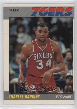 1987-88 Fleer - [Base] #9 - Charles Barkley