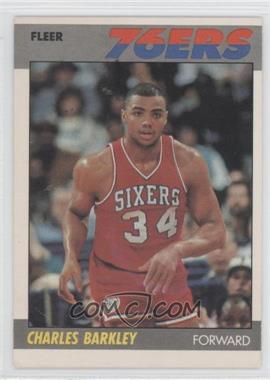 1987-88 Fleer - [Base] #9 - Charles Barkley