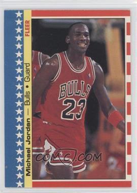 1987-88 Fleer Stickers #2 - Michael Jordan
