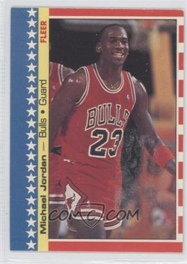 1987-88 Fleer Stickers #2 - Michael Jordan