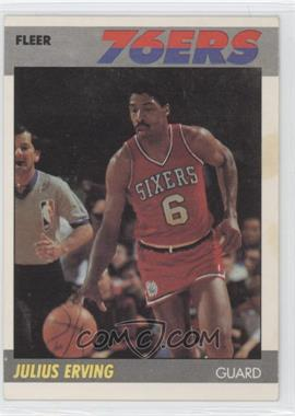 1987-88 Fleer #35 - Julius Erving