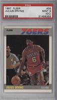 Julius Erving [PSA 9 (OC)]