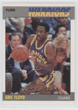 1987-88 Fleer #39 - Eric Floyd