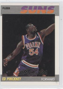 1987-88 Fleer #88 - Ed Pinckney