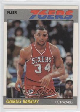 1987-88 Fleer #9 - Charles Barkley