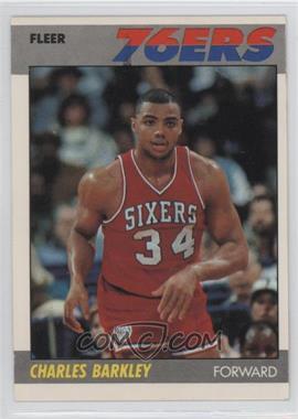 1987-88 Fleer #9 - Charles Barkley