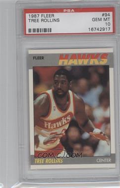 1987-88 Fleer #94 - Tree Rollins [PSA10]