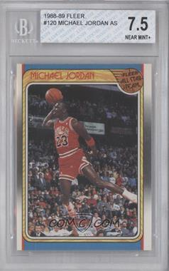 1988-89 Fleer - [Base] #120 - Michael Jordan [BGS 7.5]