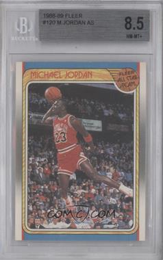 1988-89 Fleer - [Base] #120 - Michael Jordan [BGS 8.5]