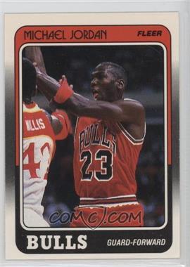 1988-89 Fleer - [Base] #17 - Michael Jordan