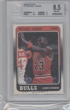1988-89 Fleer - [Base] #17 - Michael Jordan [BGS8.5]