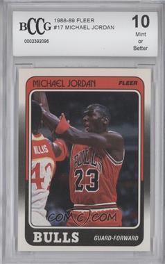 1988-89 Fleer - [Base] #17 - Michael Jordan [ENCASED]