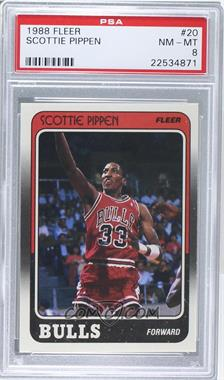 1988-89 Fleer - [Base] #20 - Scottie Pippen [PSA 8]