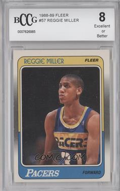 1988-89 Fleer - [Base] #57 - Reggie Miller [ENCASED]