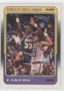 1988-89 Fleer - [Base] #64 - Kareem Abdul-Jabbar