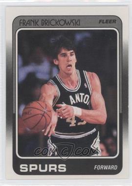 1988-89 Fleer #103 - Frank Brickowski