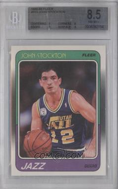 1988-89 Fleer #115 - John Stockton [BGS 8.5]