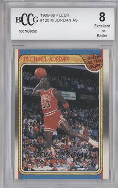 1988-89 Fleer #120 - Michael Jordan [ENCASED]