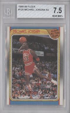 1988-89 Fleer #120 - Michael Jordan [BGS7.5]