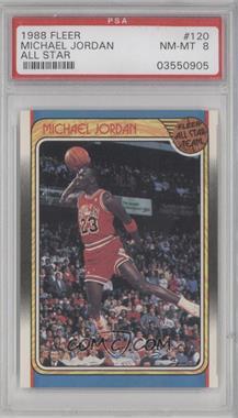 1988-89 Fleer #120 - Michael Jordan [PSA8]