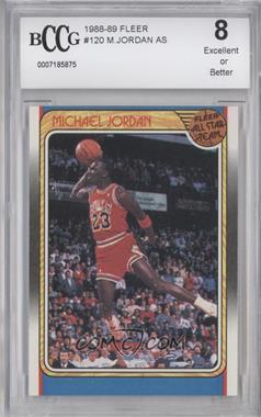 1988-89 Fleer #120 - Michael Jordan [ENCASED]
