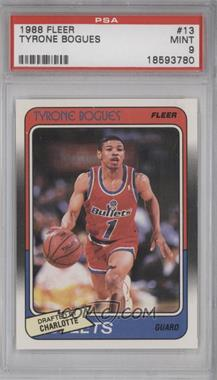 1988-89 Fleer #13 - Tyrone Bogues [PSA 9]