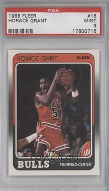 1988-89 Fleer #16 - Horace Grant [PSA 9]