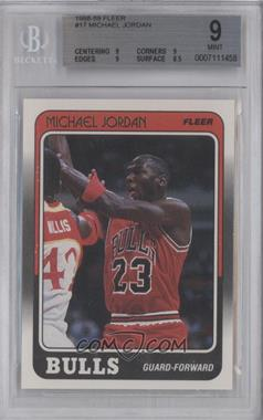 1988-89 Fleer #17 - Michael Jordan [BGS9]