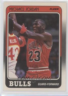 1988-89 Fleer #17 - Michael Jordan