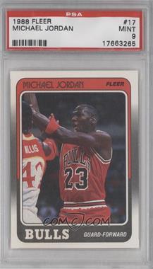 1988-89 Fleer #17 - Michael Jordan [PSA9]
