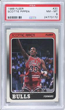 1988-89 Fleer #20 - Scottie Pippen [PSA8]