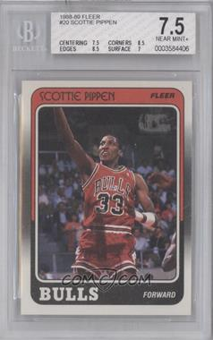 1988-89 Fleer #20 - Scottie Pippen [BGS 7.5]