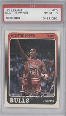 1988-89 Fleer #20 - Scottie Pippen [PSA 8]