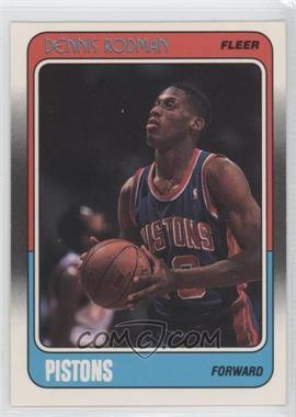 1988-89 Fleer #43 - Dennis Rodman