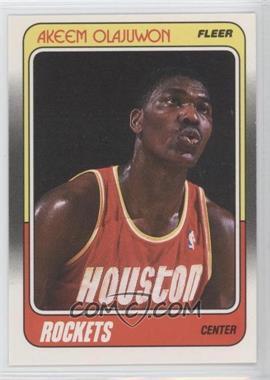 1988-89 Fleer #53 - Hakeem Olajuwon