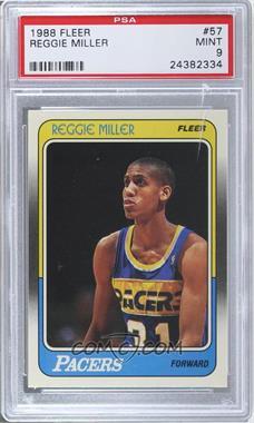 1988-89 Fleer #57 - Reggie Miller [PSA9]