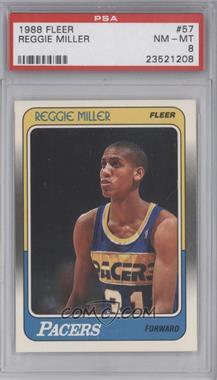 1988-89 Fleer #57 - Reggie Miller [PSA8]