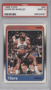1988-89 Fleer #85 - Charles Barkley [PSA 9]