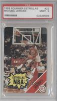 Michael Jordan Rules Card [PSA 9]