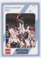 Michael Jordan (Error: Registered Trademark Missing under Tar Heels Logo)