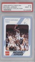 Michael Jordan (Corrected: Registered Trademark under Tar Heels Logo) [PSA&nbsp…