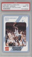 Michael Jordan (Corrected: Registered Trademark under Tar Heels Logo) [PSA&nbsp…
