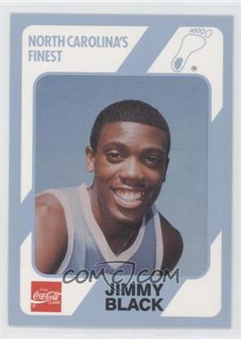 1989-90 Collegiate Collection/Coca-Cola North Carolina's Finest #94 - Jimmy Black