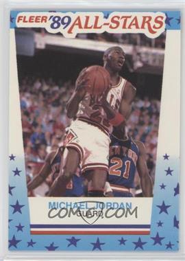 1989-90 Fleer - All-Stars Stickers #3 - Michael Jordan