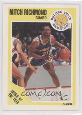 1989-90 Fleer - [Base] #56 - Mitch Richmond