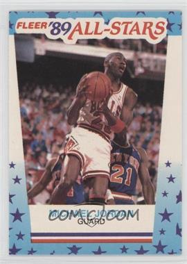 1989-90 Fleer All-Stars Stickers #3 - Michael Jordan